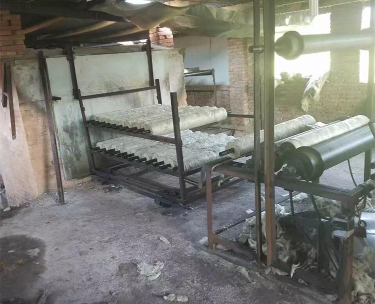 巖棉管生產線